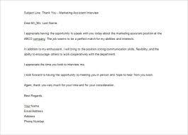 Thank You Job Interview Under Fontanacountryinn Com
