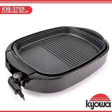 kyowa kw 3705 electric oval griller adjule temperature control plate