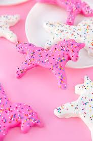 <b>Unicorn</b> Frosted <b>Animal Cookies</b>