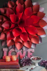 How To Make Paper Cones For Flower Petals Easy Diy Star Burst Wall Art Lia Griffith