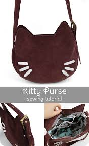 Purse Sewing Patterns Custom Freebie Friday Kitty Purse Choly Knight