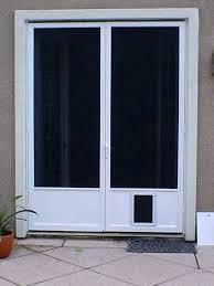 screen door with pet door door for screen door hale pet door reviews hale pet door