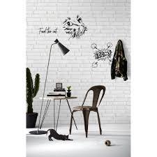 Afwasbaar Witte Stenen Behang Funkywalls Dé Webshop Voor Vintage