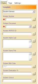 student database template student records eastern carver county schools