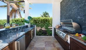 Tropical Outdoor Kitchen Designs Unique Inspiration