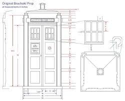 Tardis Design Plans Plans For Building A Tardis Shed Storage Barn Plans