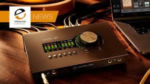 Uad Comparison Chart Universal Audio Launch New Apollo Twin X And Apollo X4