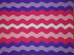Blanket Patterns Classy ZigZag Crochet Blankets Make Your Room Smile Crazy 48 Crafts
