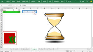 Hourglass Chart Excel Hourglass Demo