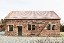 studio office furniture. barn conversion studio farris architects belgium green renovation brick office furniture n