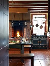 Rustic Modern Kitchen Rustic Modern Kitchen With Fireplace Trophy Cook Stove