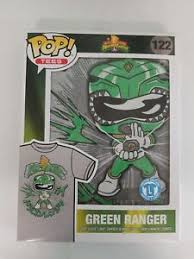 Funko Pop Tees Size Chart Details About Funko Pop Tees Target Green Ranger Dragon Dagger Mens Shirt Large Size See Chart