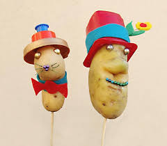 real mr potato head.  Potato Introducing The Real Mr Potato Head A Fun Kidu0027s Craft Anytime For Mr Head H
