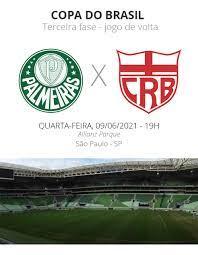 Palmeiras x CRB: veja onde assistir, escalações, desfalques e arbitragem |  copa do brasil