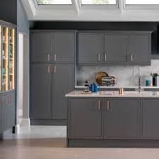 Magnet Kitchen Designer Jobs Dark Grey Kitchen With Copper Handles Trendir In 2020
