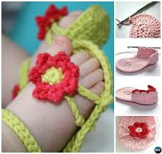 Crochet Baby Sandals Pattern Fascinating 48 Crochet Baby Flip Flop Sandals [FREE Patterns]