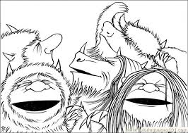 Small Picture The Most Amazing and Attractive Where The Wild Things Are Coloring