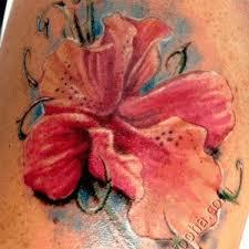 фото и значение татуировки орхидея