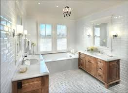 white subway tile and carrara marble bathroom fascinating kitchen decoration with interesting image of using decorat