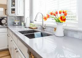 white kitchen counter. Unique Kitchen Beautiful White Kitchen With Quartz Countertops To White Kitchen Counter T