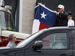 Image result for trump hurricane harvey images