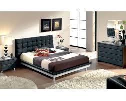 modern bedroom set in black made in spain b