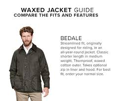 Guide to Barbour - Men's Fit & ... Bedale ... Adamdwight.com