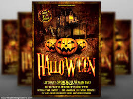 Costume Contest Flyer Template Halloween Flyer Template V1 By Lionel Laboureur For Thats