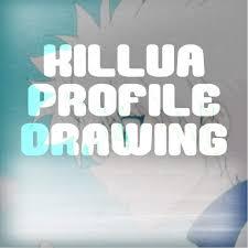 killua profile drawing hunter x