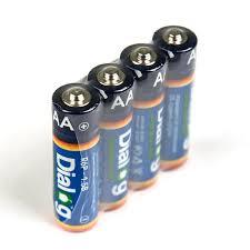 <b>Батарейка AA DIALOG</b> R6P-4S солевая, 60 шт, коробка ...