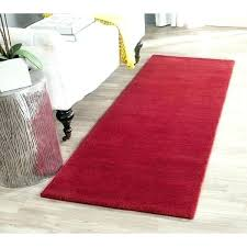 14 runner rug handmade solid red wool runner rug furniture row 14 foot long 14 runner rug