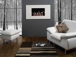 modern gray wall living room ideas