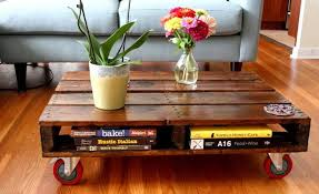 furniture made out of pallets. Wonderful Rolling Out Wooden Pallet Table Furniture Made Of Pallets S