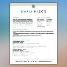 Food Server Resume Awesome Server Resume Template Restaurant Resume Food By ScribbledNapkin