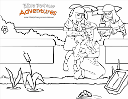 Small Picture Best Baby Moses Coloring Page Printable Ideas Coloring Page