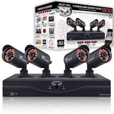 4 Channel 960H Video Security Kit with 500GB Hard Drive and Hi-Resolution Indoor/Outdoor Cameras Night Owl channel