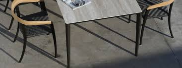 royal botania u nite modern garden dining table ont luxury outdoor table designed by