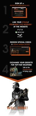 Dying Light Register Welcome Weapon Dockets