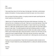 Formal Letter Of Complaint To Landlord Resume Examples