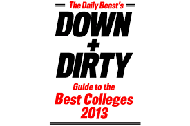 college rankings the daily beast