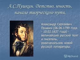 Презентация на тему А С Пушкин Детство юность начало  1 А С Пушкин Детство