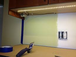 Kitchen Counter Lighting Kitchen Stunning Idea Of Under Cabinet Lighting With Led Strips