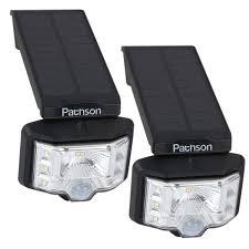 Watchdog Solar Security Light Pathson Solar Spotlights 2 In 1 Outdoor Waterproof Wall