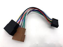 popular car radio wiring pin buy cheap car radio wiring pin lots car radio cable iso wire harness plug 20 pin for audiovox age clatronic