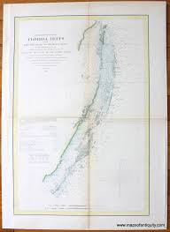 Gifts For Mothers Day Preliminary Chart Of Florida Reefs