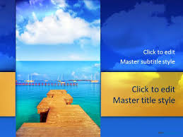 28 Images Of Free Beach Powerpoint Template Leseriail Com