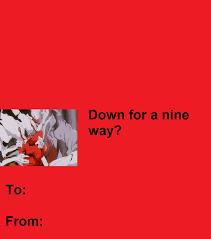 Mass Production Evangelion Unit 1 Valentines Day Card