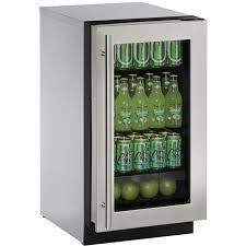 stainless steel frame glass door model 2218rgls 00b u line 2218rgls 00a refrigerator