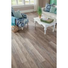 Floating Kitchen Floor Shop Stainmaster 10 Piece 574 In X 4774 In Washed Oak Dove