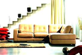 ed camel leather sectional divani casa tulip modern sofa s fo camel leather sectional